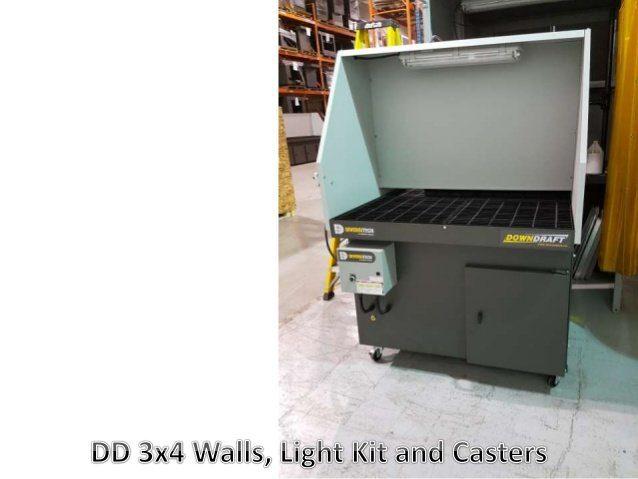 DD 3x4 Downdraft table light kit