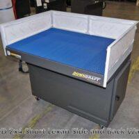 DD 4x4 Downdraft table w/ Lexan Short Walls